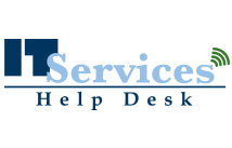 Logo design for IT Services Help Desk at State College of Florida in Bradenton