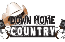 Logo design for Down Home Country Internet Radio